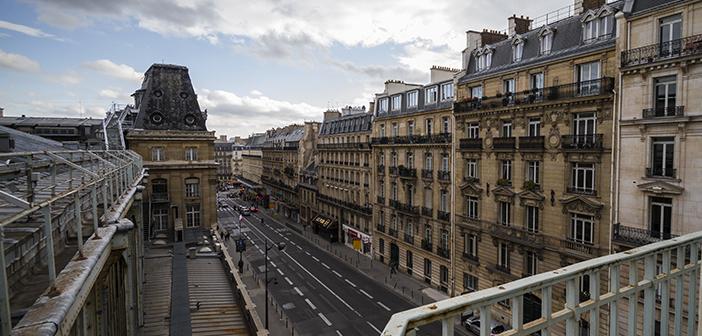 Sur les toits de la gare Saint Lazare