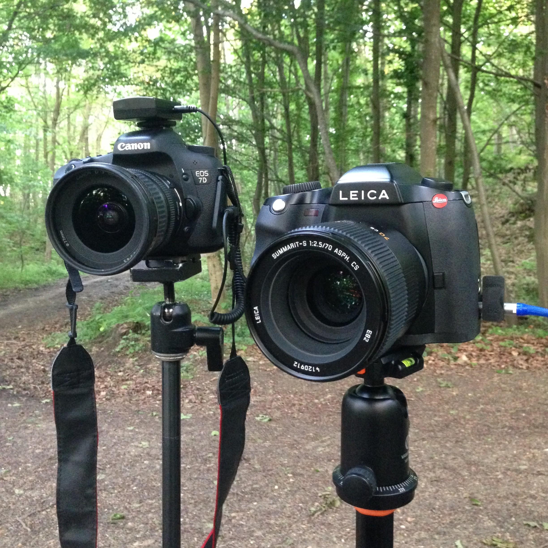 Leica S et Canon 7D