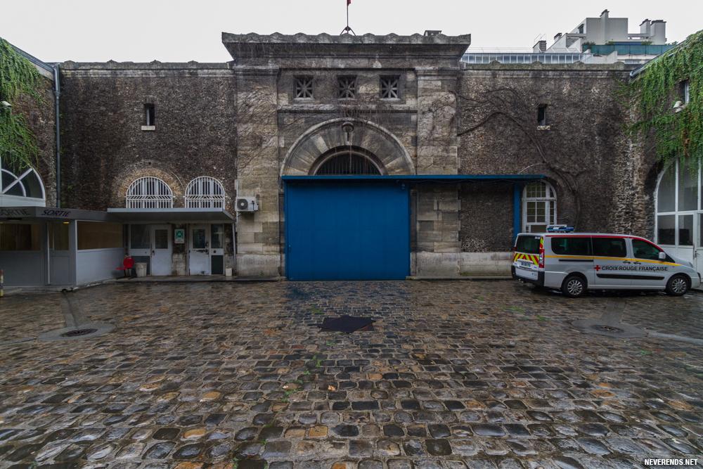 Prison de la Santé - guillotine