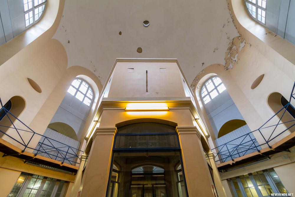 Prison d ela Santé - panoptique