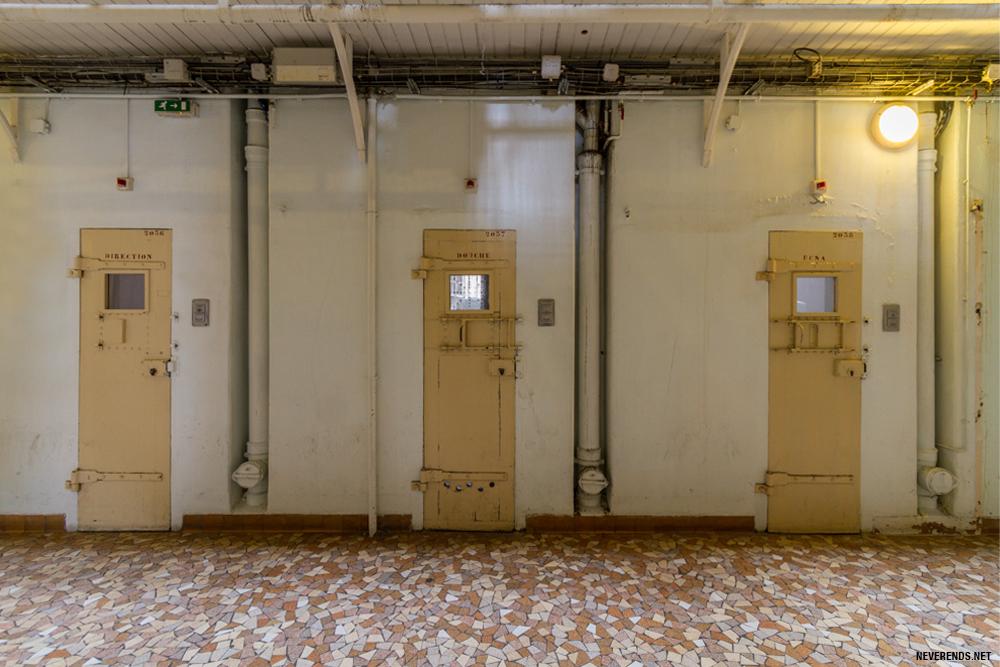 Portes des cellules