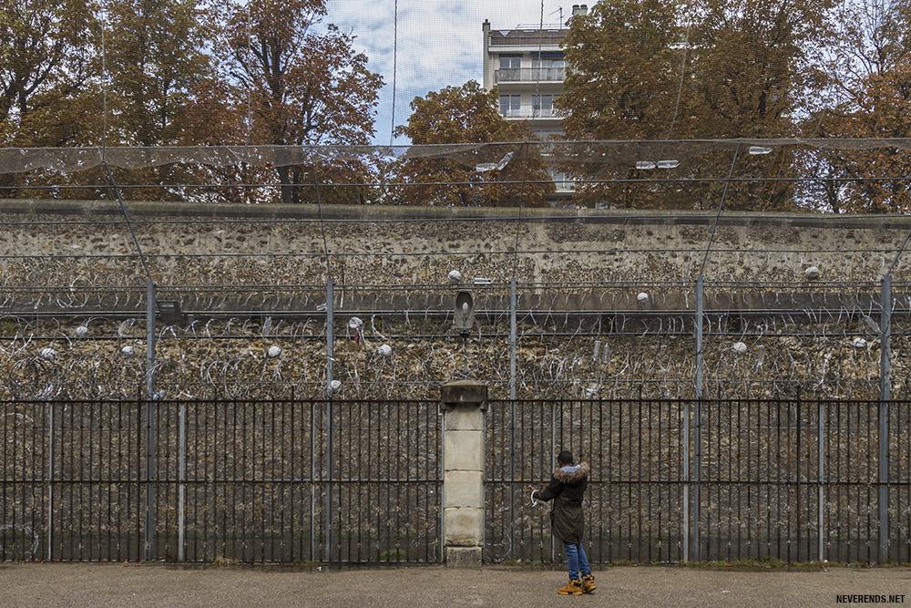 Prison de la santé cour