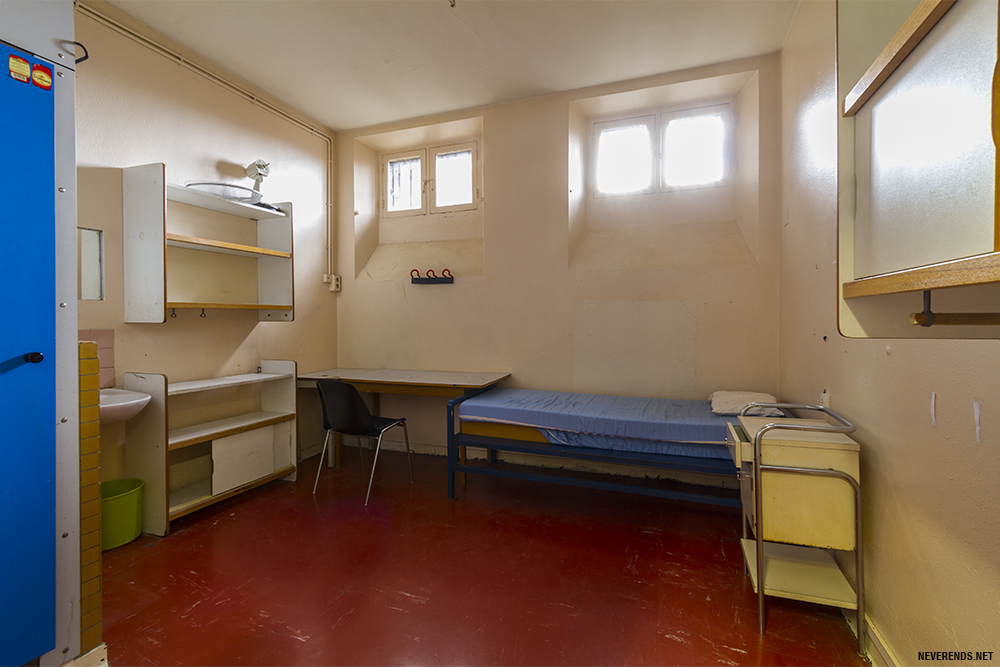 Chambre VIP à la prison de la Santé