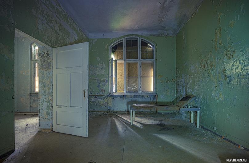 Beelitz chambre d'hopital