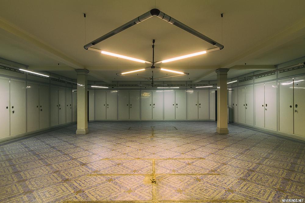 Salle des coffres Banque de France