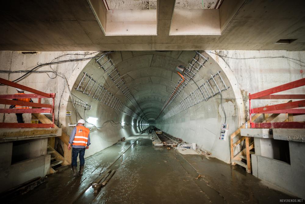 Tunnel ligne 14
